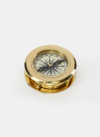 Colonial Brass Magnifying Compass