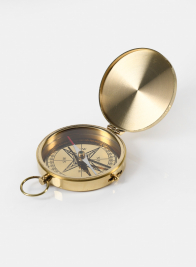 Heritage Brass Pocket Compass
