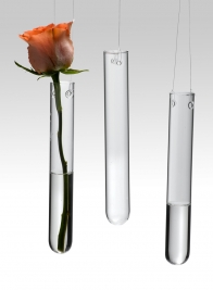 Hanging Tube Vases, Set of 3