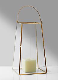 Gold Trapezoid Lantern