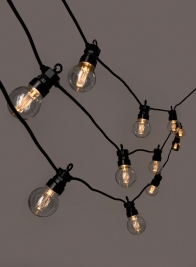 20 Filament LED Party Lights Set