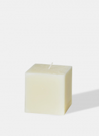 3 x 3in Ivory Square Candle