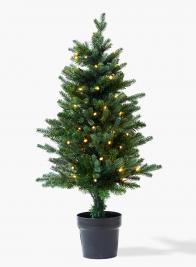 tabletop prelit christmas tree