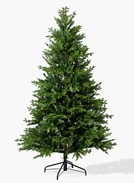 prelit classic christmas tree