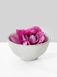 5in White Ceramic Bowl