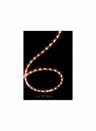 6ft Clear Flexible Rope Light
