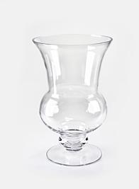 11 1/2in Glass Classic Urn