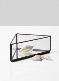decorative metal tray with mirror bottom home decor
