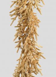 Gold Pine Needle Garland