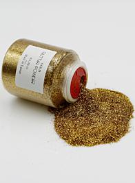 8oz Gold Glitter Powder
