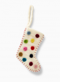 felt christmas stocking christmas tree ornament