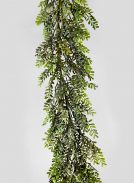 6ft Boxwood Leaf Garland