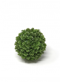 round plastic artificial baby tears grass ball