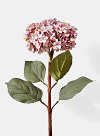purple hydrangea silk flowers