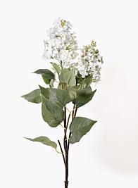 34in White Hydrangea Spray