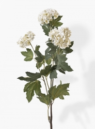 30in White Snowball Hydrangea