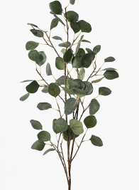 45in Dark Green Leaf Branch