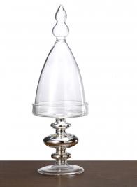 10in Mini Glass Pedestal & Cloche