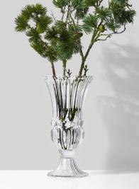 16in Glass Trumpet Vase