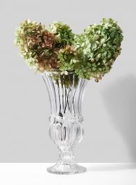 12in Glass Trumpet vase
