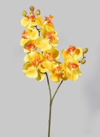 31in Real-Touch Yellow Butterfly Orchid