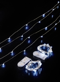 battery operated white fairy lights