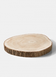 16in Paulownia Wood Trunk Slice