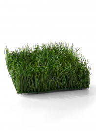 artificial green grass mat for display and props