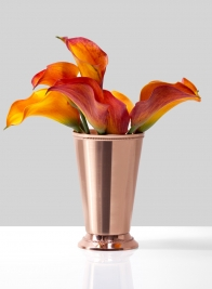 Copper Julep Cup Vase