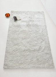 plush white sukh shag rug modern home decor