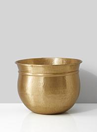 13in Antique Brass Bowl