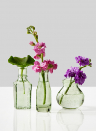 Mexican Green Bud Vases