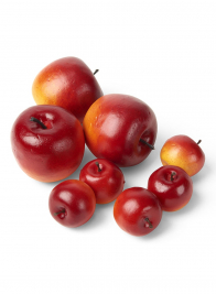 Fake Fruit Red Apples