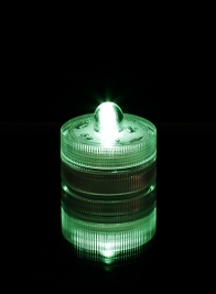 Green Submersible Single LED Light, Set of 10 24797