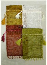 Embroidered Organza Bags