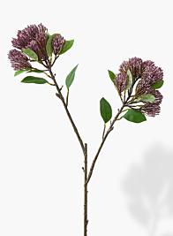 33in Purple Sedum Spray