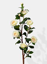 white camellia silk flowers