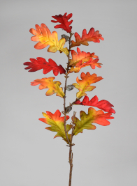 34in Fall Oak Leaf Spray With Acorns