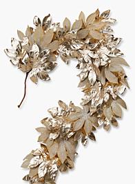 72in Large Gold Leaf Garland