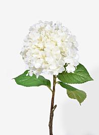 29in White Hydrangea Spray