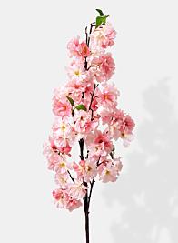 pink cherry blossom spring wedding flowers