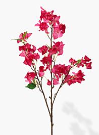 41in Fuchsia Bougainvillea Spray
