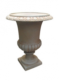 antique rust white urn garden wedding décor MC1BARW