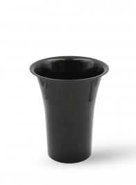 10 1/2 x 13in Black Flower Bucket