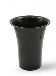12 x 16in Black Flower Bucket