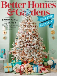 better homes & gardens magazine december 2017 cover