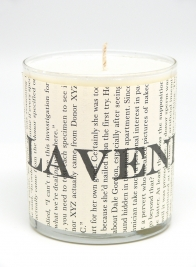 blithey & bonny lavender scented candle