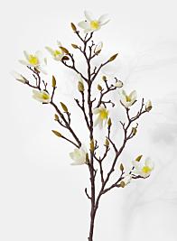 blooming magnolia spray wedding silk flowers