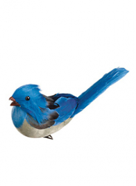 blue jay bird ornament clip BB8015-BL