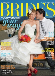 brides october 2010 cover